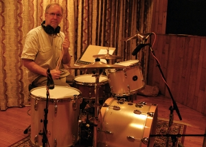 Walker session me on drums