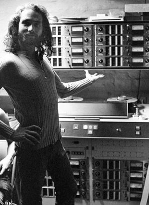 Dan Alexander with the Ampex MM1000