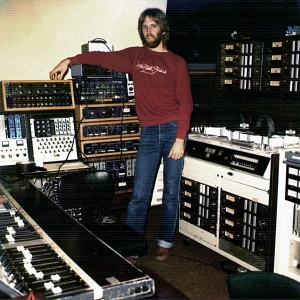Me in Hyde St Studios C around 1981 - Helios and the MM1000 recorder - what a sound!