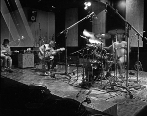 The Dead Kennedys recording at Hyde St. studio C 1986