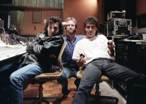 Satriani, Me and Campitelli recording Joe's Dreaming #11 EP