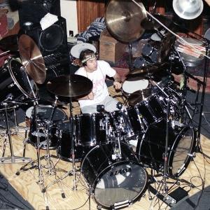 Simon Philips at Bearsville Studios NY
